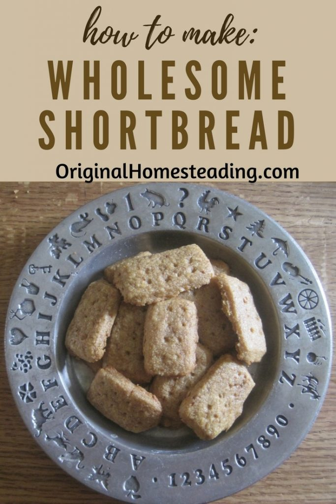 How to Make Wholesome Shortbread